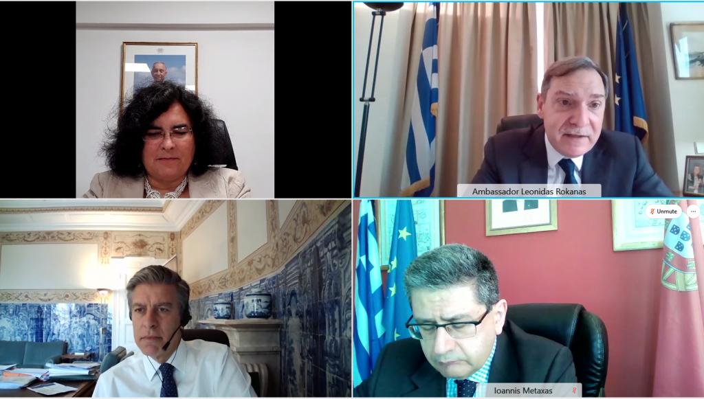 Consultas bilaterais do Diretor-Geral dos Assuntos Europeus com o seu homólogo da Grécia